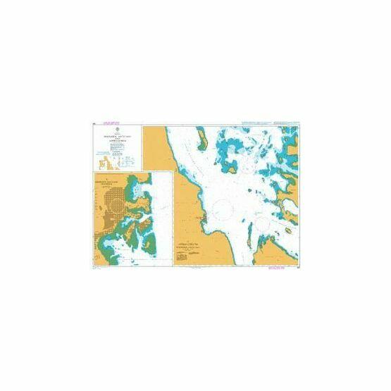 460 AApproaches to Massawa (Mits\'iwa) Admiralty Chart