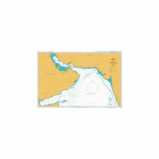 4705 Arabian Sea Admiralty Chart
