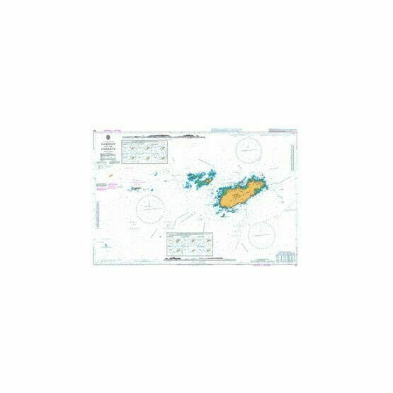 60 Alderney and the Casquets Admiralty Chart
