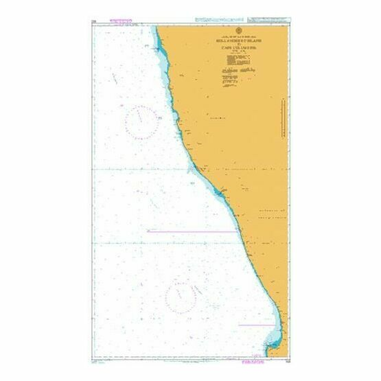 632 Hollandsbird Island to Cape Columbine Admiralty Chart
