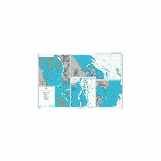 2758 Mozambique, Porto da Beira Admiralty Chart