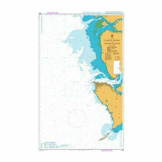 686 Yelibuya Sound to Banana Islands Admiralty Chart