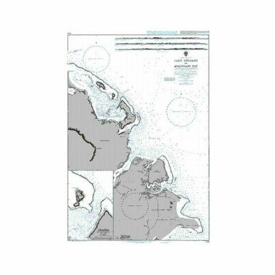 690 Cabo Delgado to Mikindani Bay Admiralty Chart