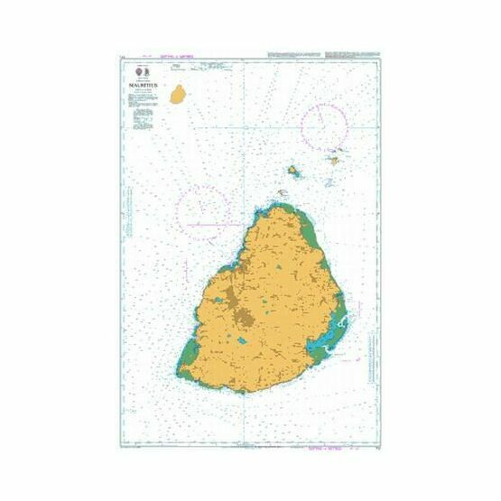 711 Mauritius Admiralty Chart