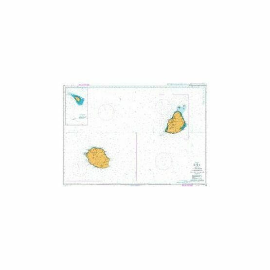 712 La Reunion to Mauritius and Ile Tromelin Admiralty Chart
