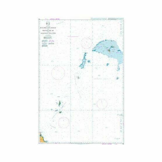 716 Seychelles Group to Madagascar and Agalega Islands Admiralty Chart