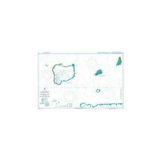 727 Peros Banhos to Blenheim Reef including Nelson's Island Admiralty Chart