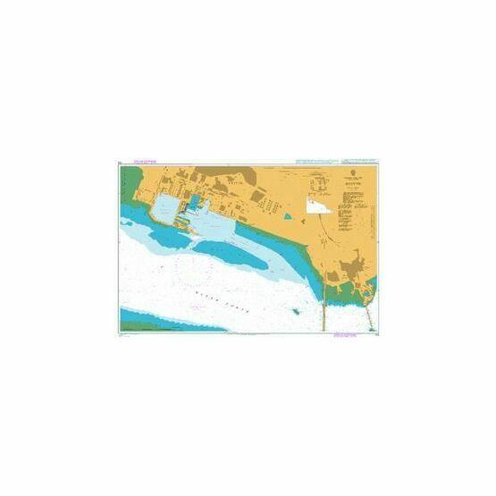 728 Rosyth Admiralty Chart