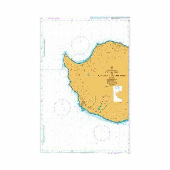 775 Cape Arnauti to Cape Limniti and Cape Aspro Admiralty Chart