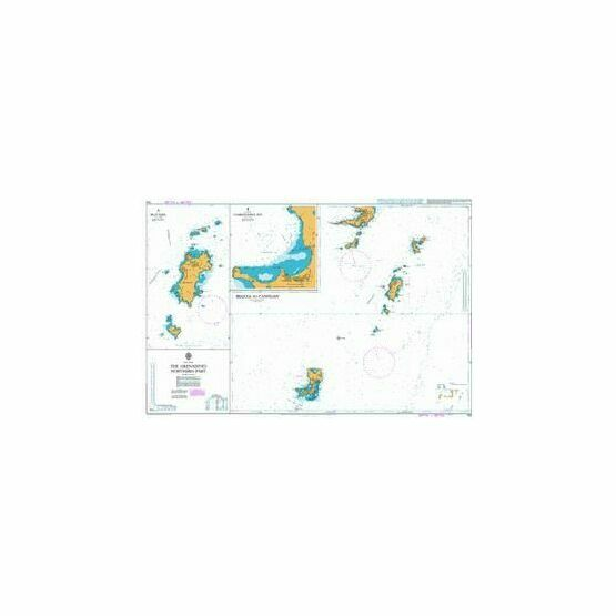793 The Grenadines Northern Part Admiralty Chart