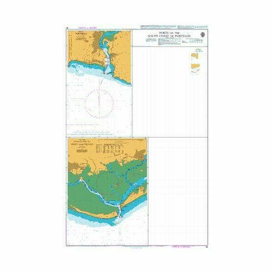 South Coast Of Spain Map.83 Ports On The South Coast Of Portugal And Spain Admiralty Chart