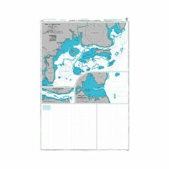 866 Plans in Tanganyika and Kenya Admiralty Chart