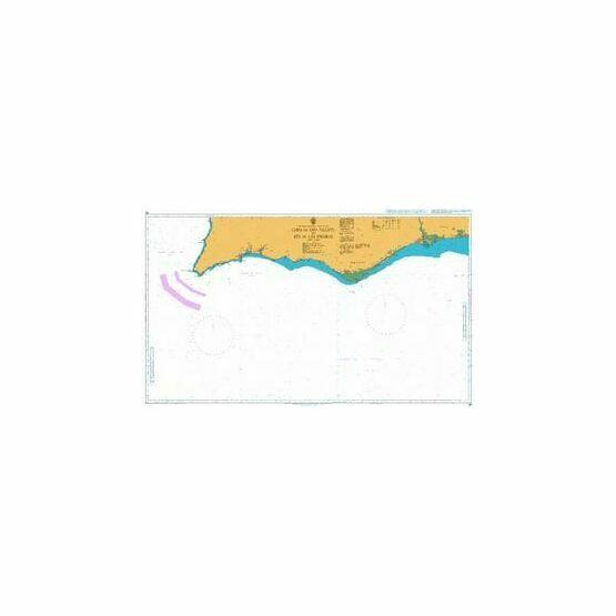 89 Cabo de Sao Vicente to Faro Admiralty Chart