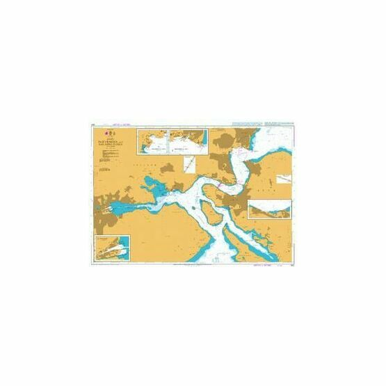 900 Snaevringen and Kolding Fjord Admiralty Chart