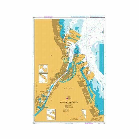 902 Kobenhavns Havn Admiralty Chart