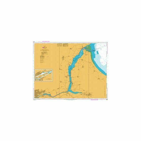 905 Randers Fjord Admiralty Chart