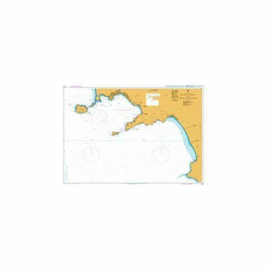 908 Golfo di Napoli & Golfo di Salerno Admiralty Chart