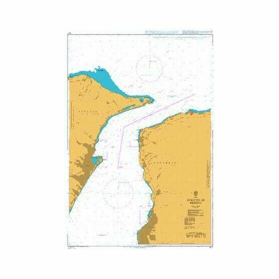 917 Stretto di Messina Admiralty Chart