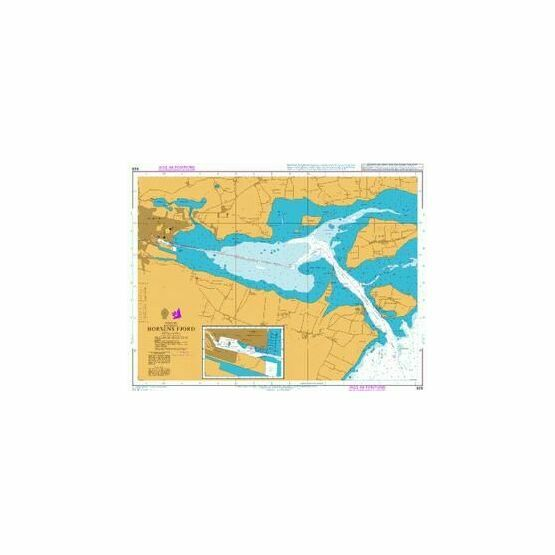 929 Horsens Fjord Admiralty Chart only 2520