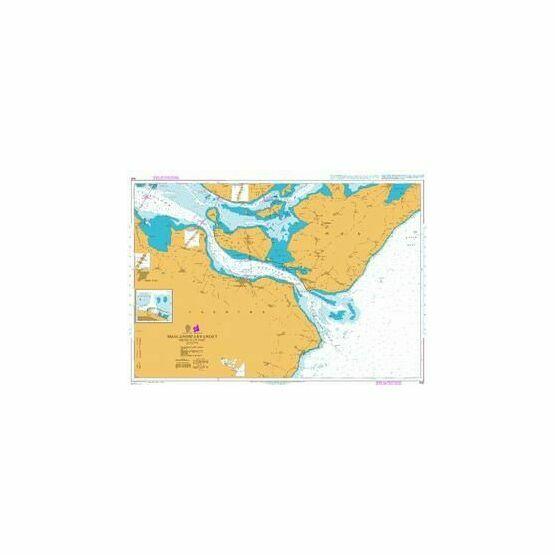 940 Smalandsfarvandet - South-East Part Admiralty Chart
