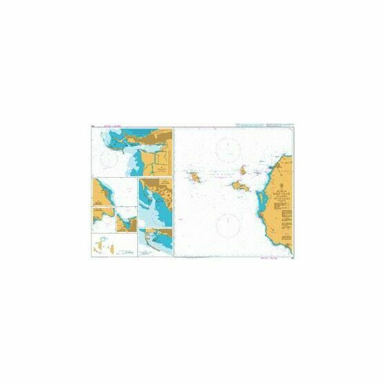 964 Sicilia West Coast including Isole Egadi Admiralty Chart