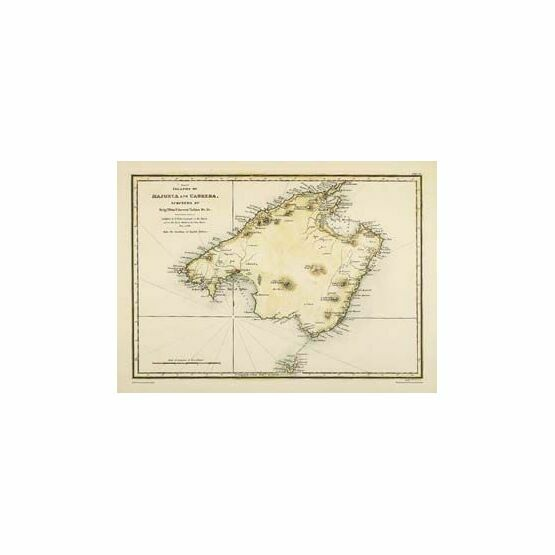 Islands of Majorca & Cabrera ARC 5457 Admiralty Collection Archive Chart