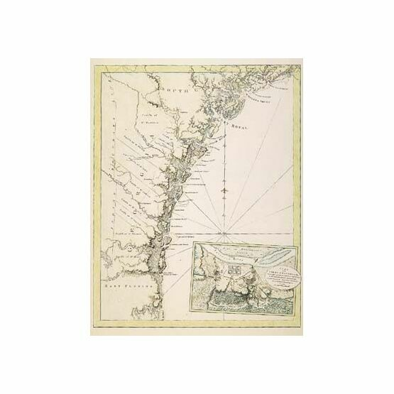 The Coast of Georgia and South Carolina ARC 5474 Admiralty Collection Archive Chart