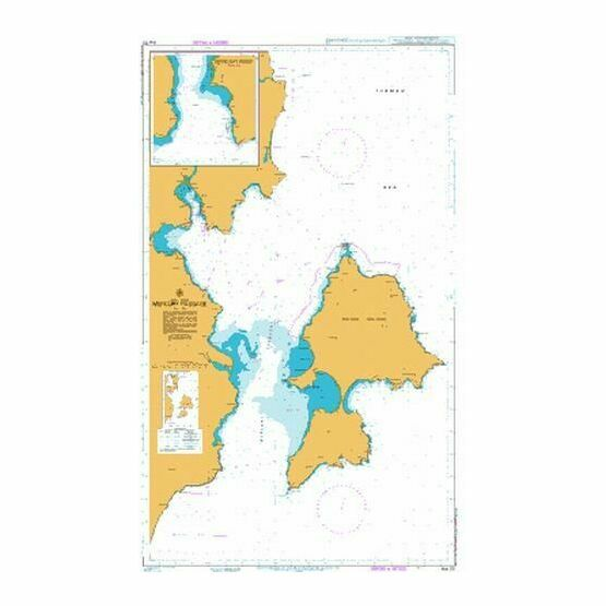 AUS170 Maria Island to Cape Sonnerat Admiralty Chart