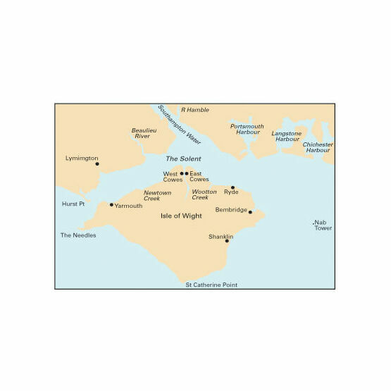 Imray Nautical Chart C3 Isle of Wight
