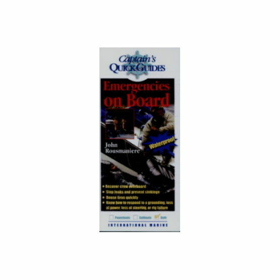 Captain\'s Quick Guides - Emergencies On Board