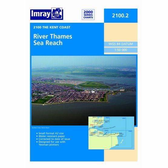 Imray Chart 2100.2 River Thames Sea Reach
