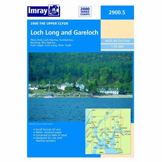Imray Chart 2900.5 Loch Long and Gareloch
