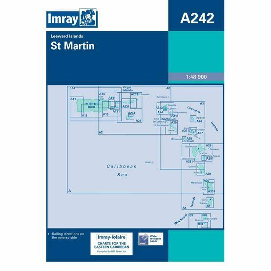 Imray Chart A242 St. Martin