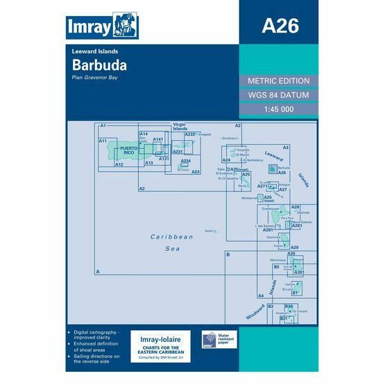 Imray Chart A26 Barbuda