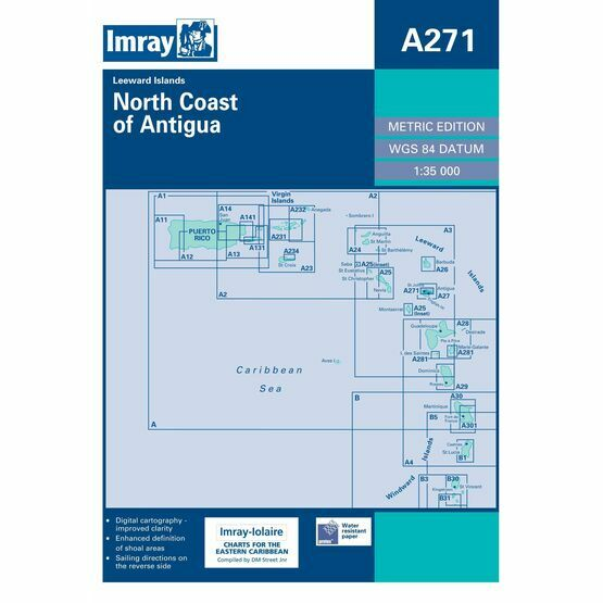 Imray Chart A271: North Coast of Antiqua