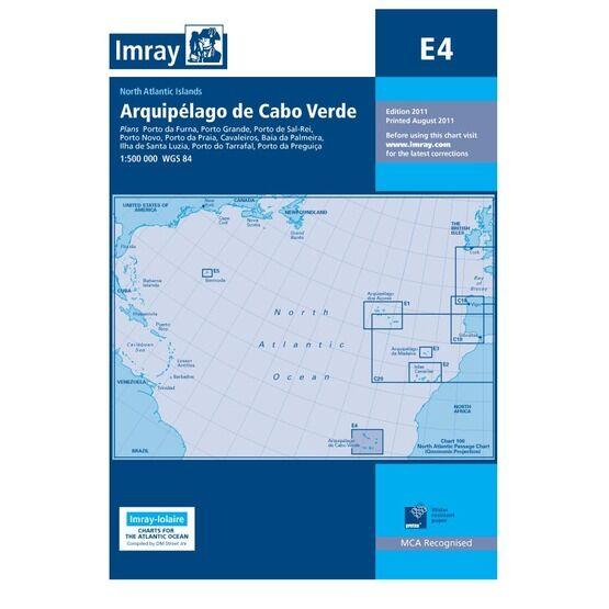 Imay Chart E4 Arquipelago de Cabo Verde