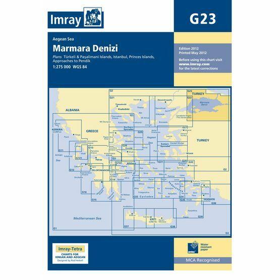 Imray Chart G23: Marmara Denizi