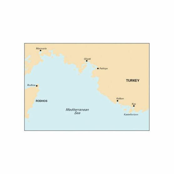 Imray Nautical Chart G36 South Coast of Turkey