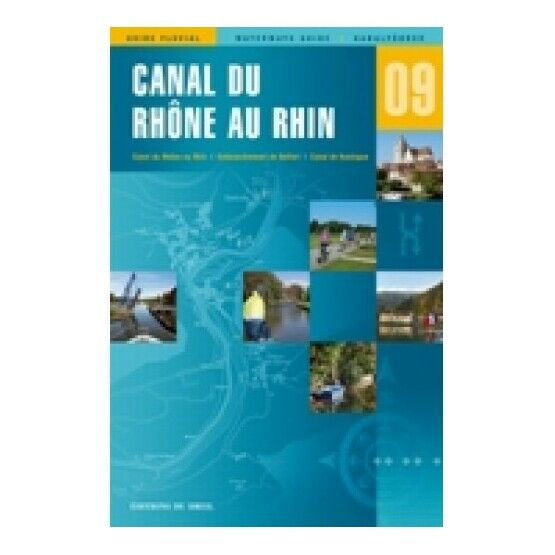 Imray Editions Du Breil No. 9 Canal du Rhone au Rhin Waterway Guide