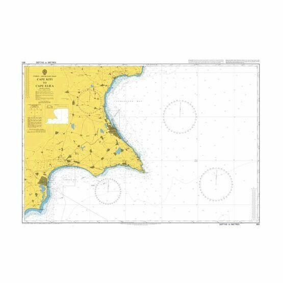 851 Cape Kiti to Cape Eloea Admiralty Chart