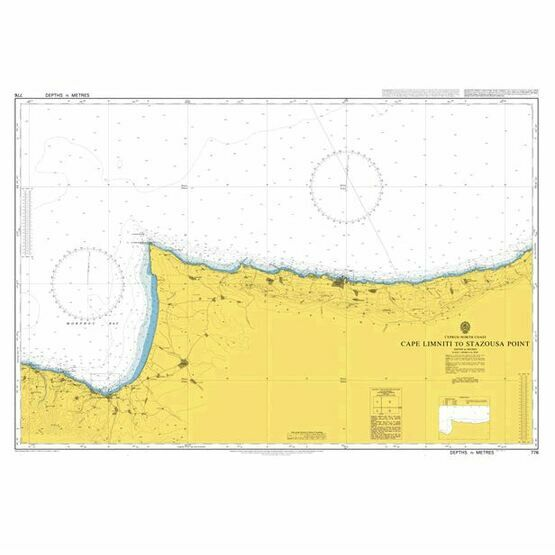 776 Cape Limniti to Stazousa Point Admiralty Chart