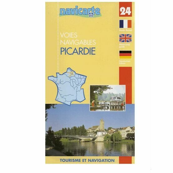 Imray Fluviacarte No. 24. Picardie Guide Guide