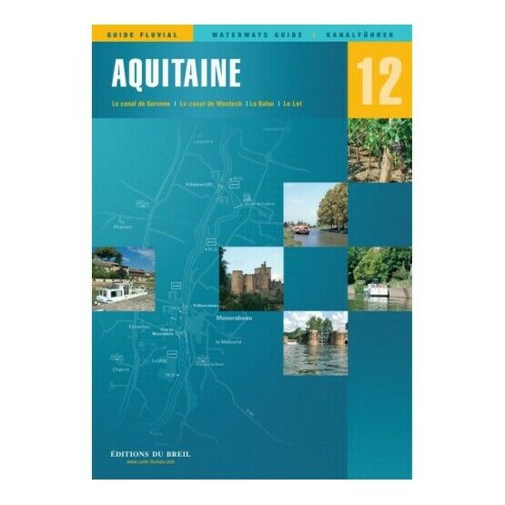 Imray Editions Du Breil No. 12 Aquitaine Waterway Guide