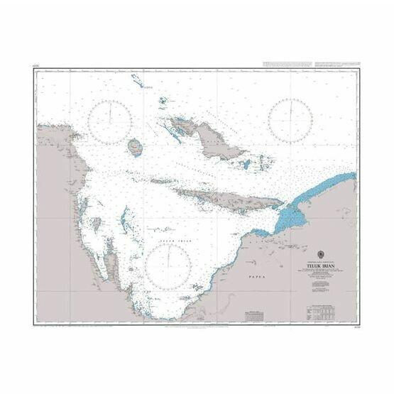 3249 Teluk Irian Admiralty Chart