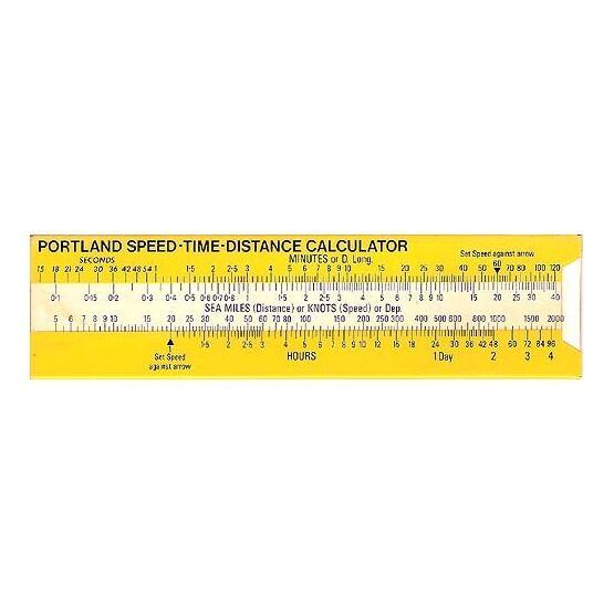 Portland Speed Time Distance Calculator (Large)