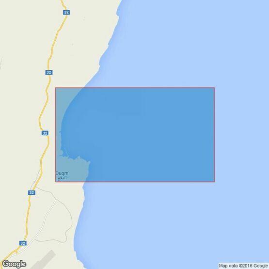 3762 Oman- South East Coast, Ad Duqm Admiralty Chart