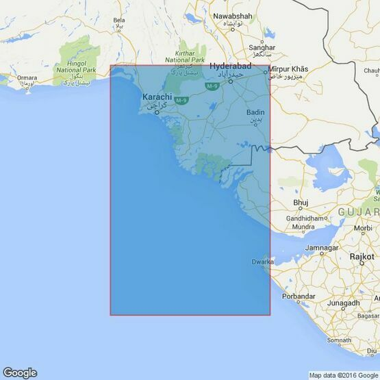 39 Gulf of Kachchh to Sonmiani Bay Admiralty Chart