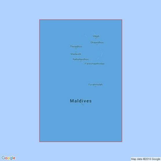 1011 Addoo Atoll to North Huvadhoo Atoll Admiralty Chart