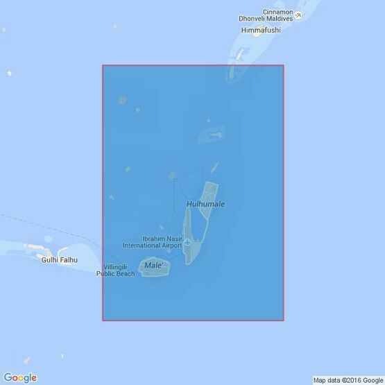 3323 Male` Atoll Admiralty Chart