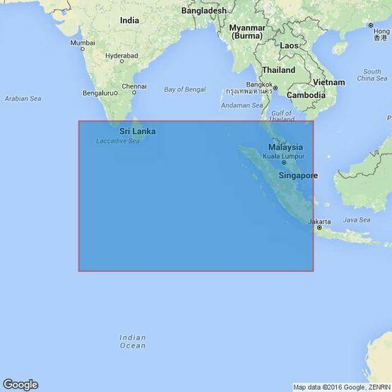 4707 Maldives to Sumatera Admiralty Chart